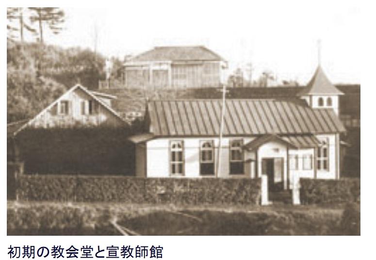 設立当初の教会